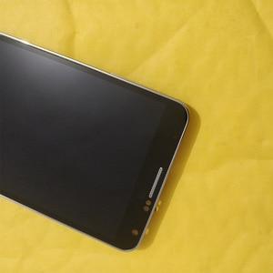 Image 2 - N9005 Lcd Voor Samsung Note 3 Lcd Touch Screen Digitizer Vervangende Onderdelen N9005 Display Voor Galaxy Note 3 Lcd Frame knop