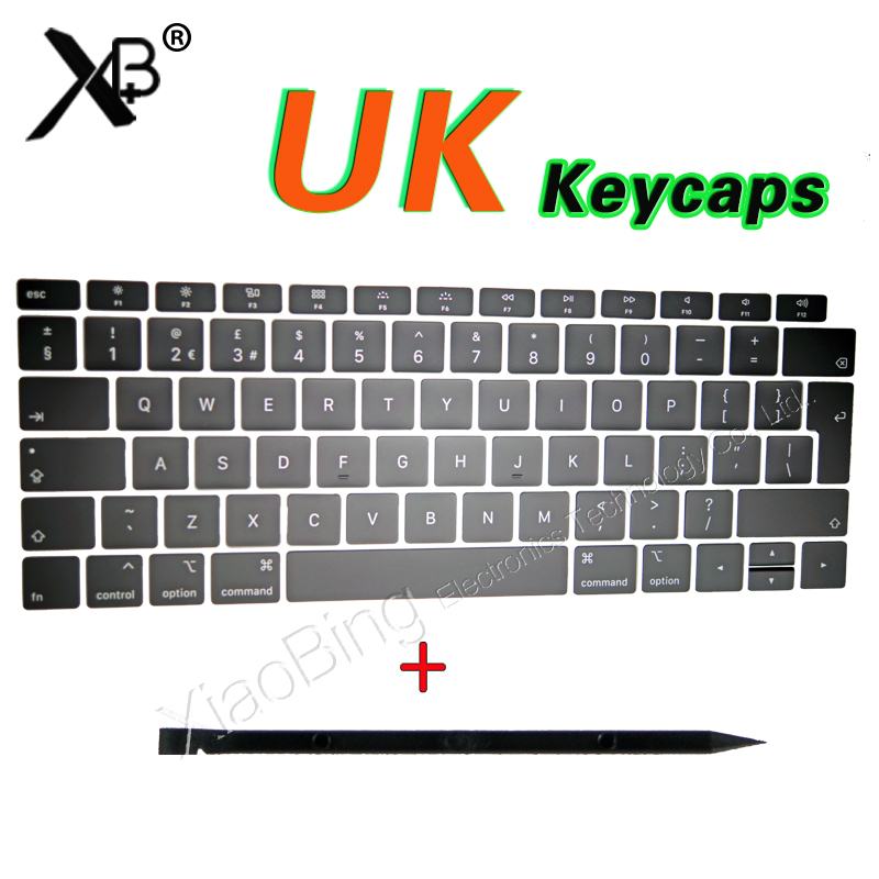 NEW Laptop A1989 A1990 A1932 Keys Keycaps UK English For Macbook Pro Air Retina 13