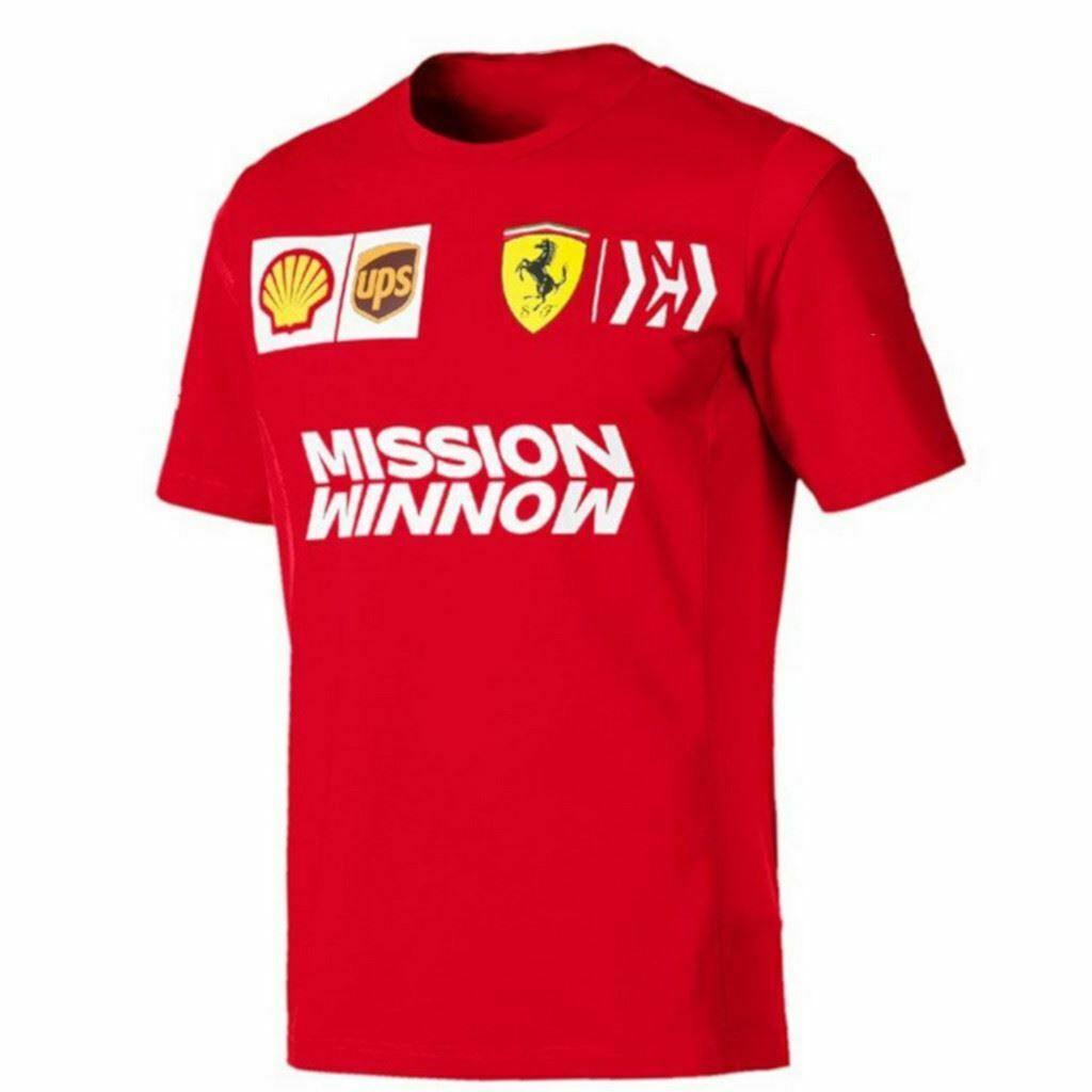 Scuderia Ferrari Men's Team T-Shirt