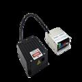 520nm 3 Вт Одноцветный чистый зеленый 3000nW диод аналоговый лазерный модуль для DMX ILDA сценический светильник