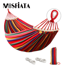 Camping Hammock Mosfiata Hanging-Chair Tree-Straps Garden-Furniture No with Thickened