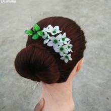 LALAVARA  custom made wedding bridal hair floral combs Chinese vintage hair Accessories