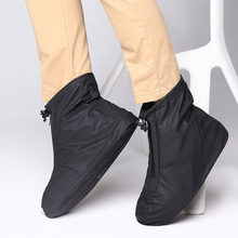 Shoe Cover Outdoor Anti-Slip Waterproof Flat Rain Ankle Boots Protection Travel(China)