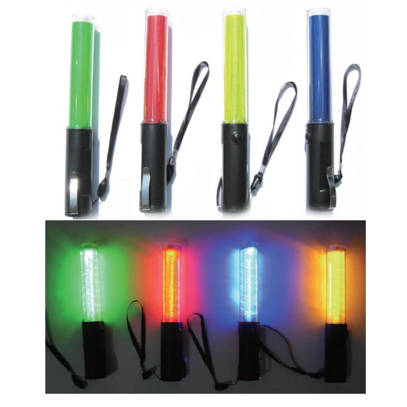 260 Multi-functional Traffic Control Baton Magnet Hook Concert Fluorescent Road Block Night LED Warning Light