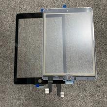 """10Pcs עבור iPad 6 עבור iPad אוויר 2 2nd Gen A1566 A1567 9.7 """"מגע מסך Digitizer LCD חיצוני פנל חיישן החלפת חלק"""