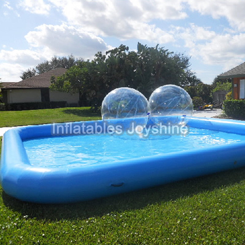 US $1477.0 |Free Shipping free air pump inflatable rectangle swimming pool  with good price for sale-in Inflatable Bouncers from Toys & Hobbies on ...