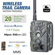 Caméra de chasse et de Surveillance à domicile HC810M 2G, pièges Photo 16mp 1080P, déclencheur 0.3s, Surveillance de la faune