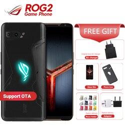 Перейти на Алиэкспресс и купить global firmware asus rog phone 2 8gb 128gb gaming smartphone rog phone ii zs660kl 6.59дюйм. snapdragon 855+ 6000mah mobile phone