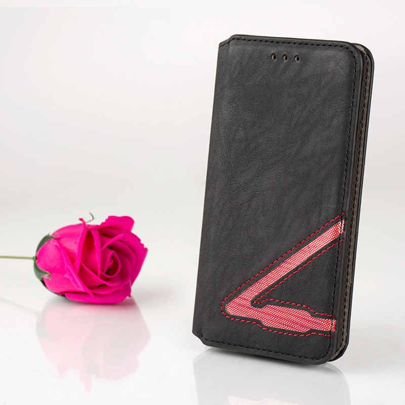 New Fashion girl virar folio carteira de couro da tampa do caso para o zte v7 V8 V9 V10 fundas coque para zte v7 v8 lite v9 v10 vita nenhum ímã