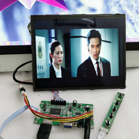HDMI+audio output +9.7inch 2k high definition LCD screen physical resolution 2048 x1536 IPS Panel Monitor w /Raspberry Pi