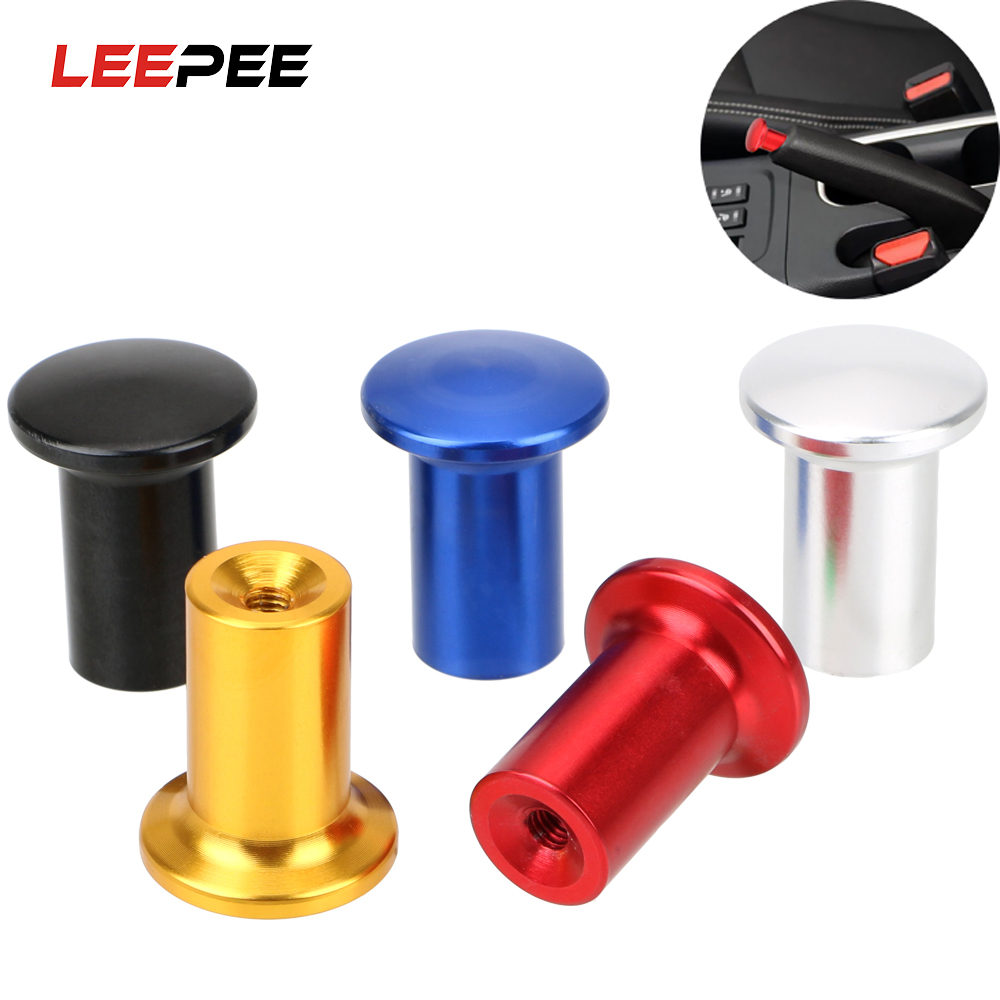 LEEPEE Universal Hand Brake Button Cover Car Accessories For Car Racing Handle Hand Brake Emergency Cover Button