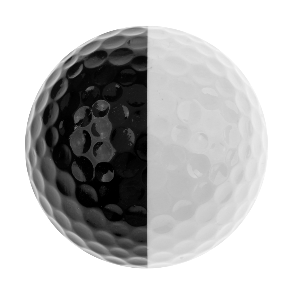 Golf Ball Golf Training Soft Foam Balls Practice Ball Black And White