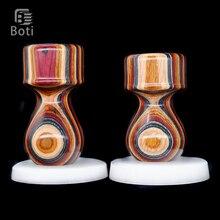 Boti Brush-Annual Ring Handmade Beard Shaping Tool Custom Size And Brush Knot Type High Quality Resin Handle