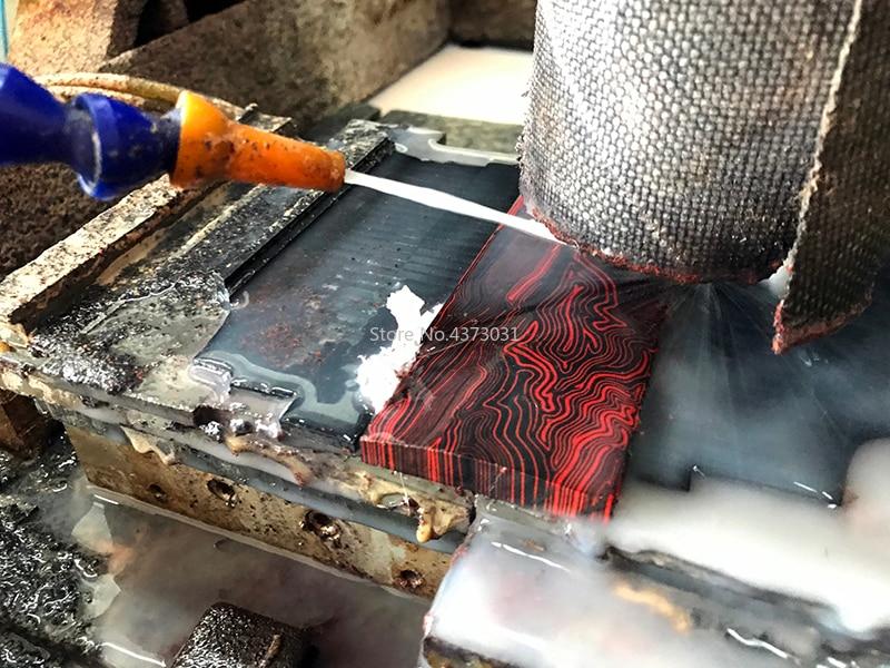2Pcs-G10-Micarta-Template-Board-Sheet-Damascus-Canvas-material-For-DIY-Knife-handle-Craft-Supplies-130X45X8mm (2)