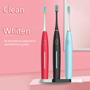 Timer Electric-Toothbrush Sonic DXM Teeth-Whitening-Brush Usb-Charging Gift 5mode Couple