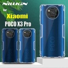 Nillkin Case for Xiaomi POCO X3 Pro Cases 0.6mm Thin Clear Transparent Silicone Soft Phone Back Cover on POCO X3 Pro Capa Funda