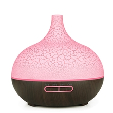 Aroma Essential Oil Diffuser Ultrasonic Cool Mist Humidifier Air Purifier 7 Color Change Led Night Light Crack For Office Home цена и фото