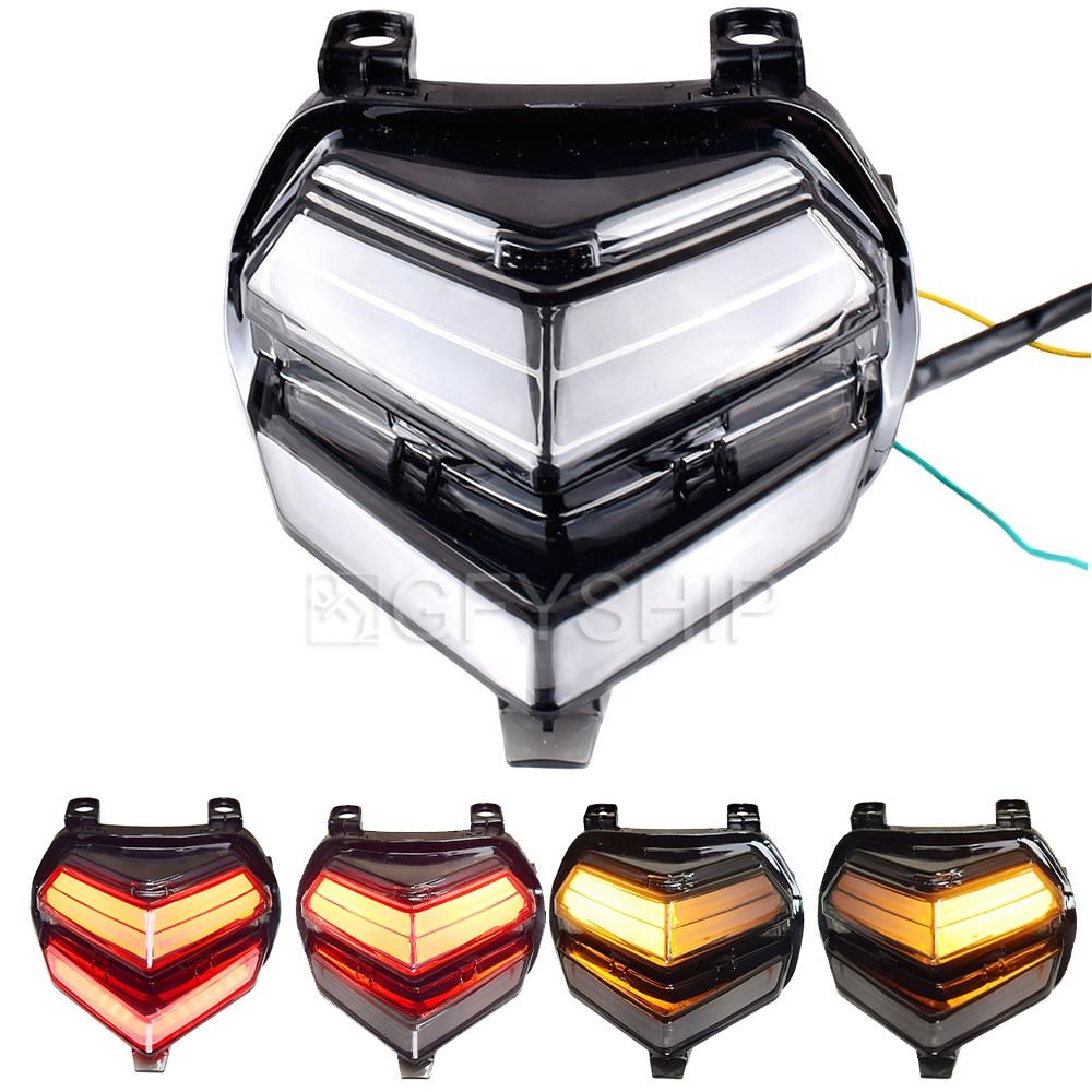 For Honda CBR250RR CBR250 RR 2017 CBR 250RR CBR 250 RR Motorcycle Tail Light LED Turn Signals Motorcycle Brake Light Parking