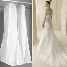 Большая одежда, свадебное платье, длинный защитный чехол для одежды, чехол для свадебного платья, пылезащитный чехол, сумка для хранения для свадебного платья es