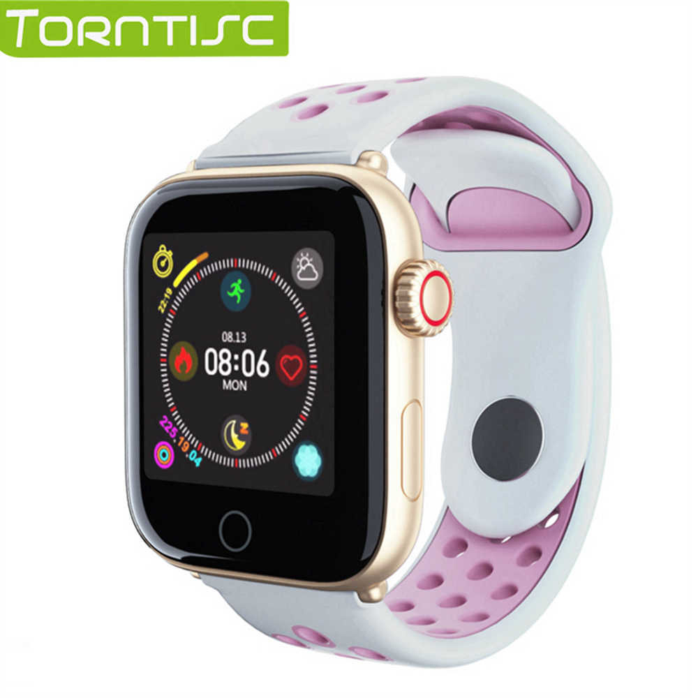 Torntisc Smart Watch Men Heart Rate Monitor Anti-loss Call Reminder Pedometer IP68 Waterproof Smart Watches For Apple Android