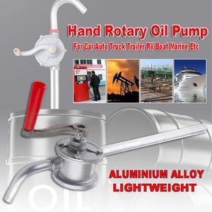 Ручной роторный масляный насос для мотоцикла ручной поворотный насос масляный топливный насос для автомобиля авто грузовик прицеп RV лодка ...