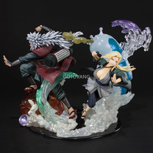 21Cm Anime Naruto Nul Shippuden Drie Verdragen Jiraiya Tsunade Orochimaru Relatie Pvc Action Figure Collection Model Speelgoed Geschenken