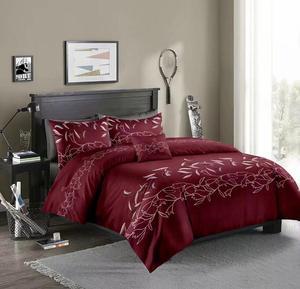 Image 2 - LOVINSUNSHINE Luxury Lace Solid Color Bedding Set 3pcs Duvet Cover Set Pillowcases Bedclothes Comforter Bedding Sets xx05#