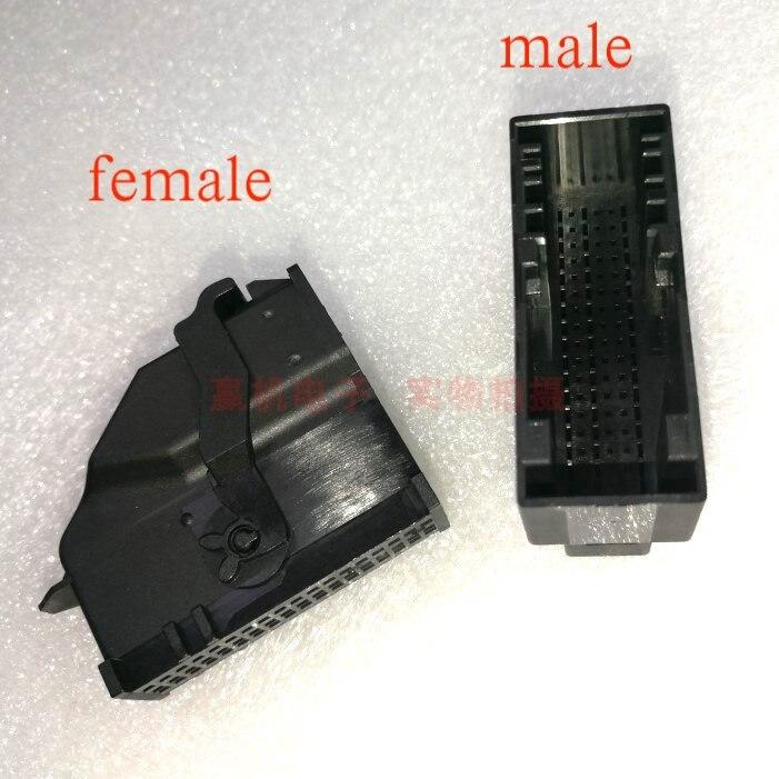 Para ford focus sync2 sync3 dados 54pin macho fêmea plug terminal conector cabo de extensão