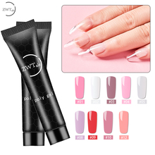ZWTale 15ML Poly Gel Professional Varnish for Nail Extensions Poligel Art Acrylic Nails Acryl