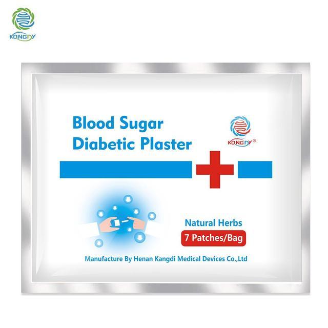 KONGDY 7 pcs Patch di Ridurre di Alta di Zucchero Nel Sangue In Gesso Diabete Equilibrio di Glucosio Nel Cinese A Base di Erbe Naturali Farmaci