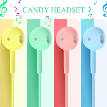 Earbuds Stereo Earphone Wired Music-Headsets Universal Xiaomi Portable Huawei with