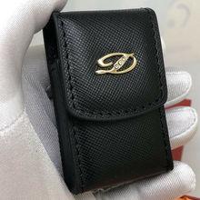 Lighter Case S.T. for with Gift-Box Holster Bag Belt Gold-Logo