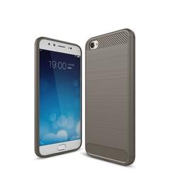 На Алиэкспресс купить чехол для смартфона luxury silicone case for vivio y3 y17 y97 y83 v11 v15 v15 pro x9 x23 case soft carbon fiber drawing bumper phone back cover