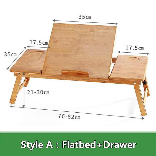 Portable Folding Bamboo Laptop Table 1