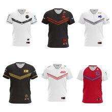 Lol lpl 2020 esports jérsei ig rng edg sn lgd tes jdg jogador jérsei uniforme nome tshirt das mulheres dos homens t-shirt personalizado