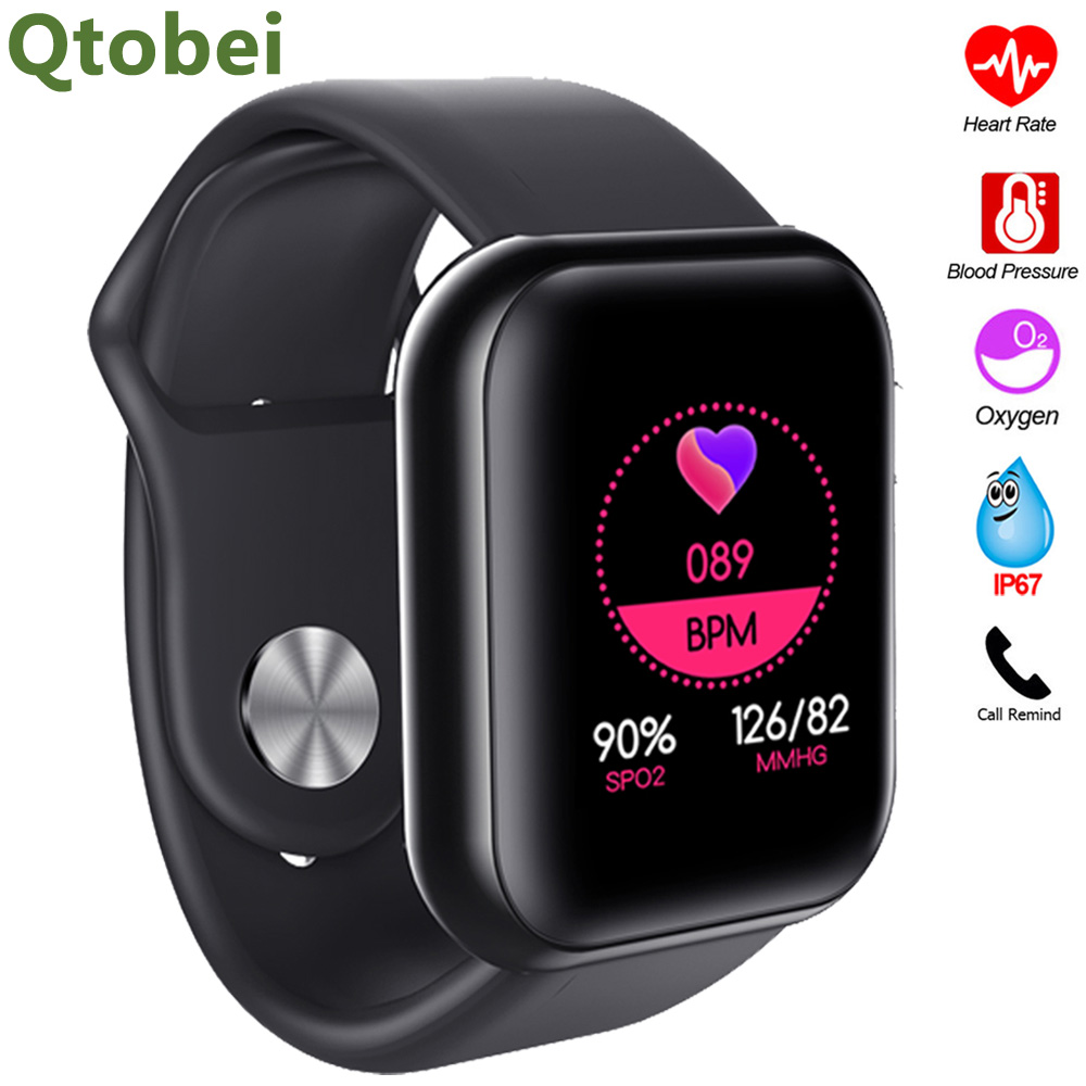 Smart Watch Men Women Blood Preesure Oxygen Monitor Smartwatch Heart Rate Monitor Smart Watch WhatsApp Reminder For Android IOS