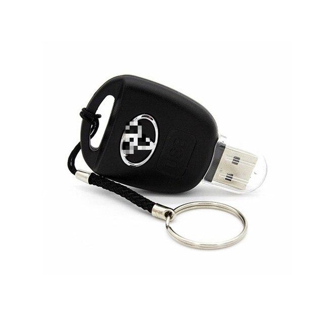 100% capacité clé de voiture Toyota USB 2.0 lecteur Flash 8GB 16GB 32GB 64GB 128GB personnaliser lecteur de stylo USB clé mémoire dispositif de stockage