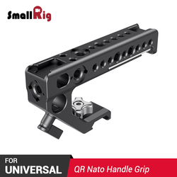 SmallRig DSLR Camera Top Handle Grip Quick Release NATO Top Handle for Sony for Nikon for Canon Feature w/ Cold Shoe Mount 2439
