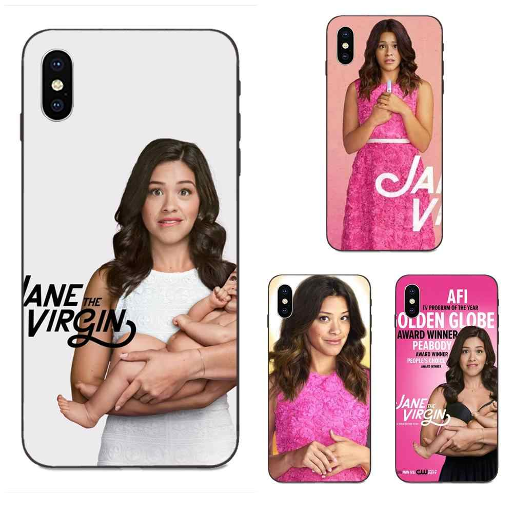 Soft Phone Cover Case Capa Hot Tv Show Series Jane The Virgin For ...