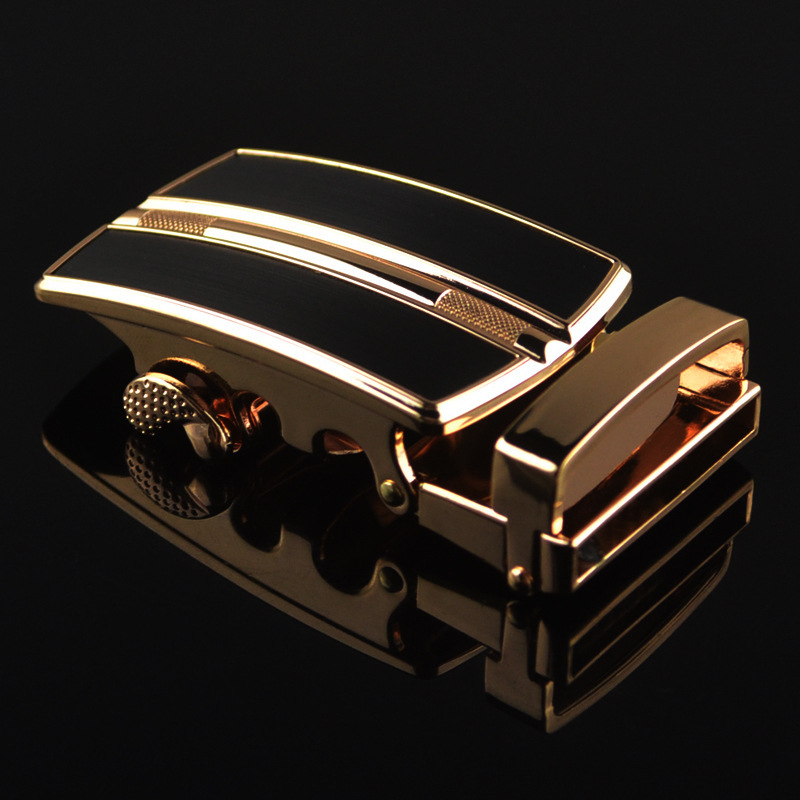 Genuine Men's Belt Head, Belt Buckle, Leisure Belt Head Business Accessories Automatic Buckle Width 3.5CM Luxury Fashion LY1561