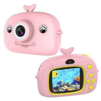 X12 aparat dziecięcy 2000W zabawka z kreskówki aparat podwójny aparat full HD przenośny cyfrowy ekran 2 cali zdjęcie aparat dziecięcy prezent tanie i dobre opinie TROZUM Naprawiono ostrości Obiektyw-Style Kamery Hd (1280x720) CMOS APS-C 4 5-54mm 5 0-9 9MP Karta sd Standardowy ekran