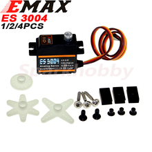 Original EMAX ES3004 Metal Analog Servo 20g Waterproof Servo with Gears for RC Car Helicopt
