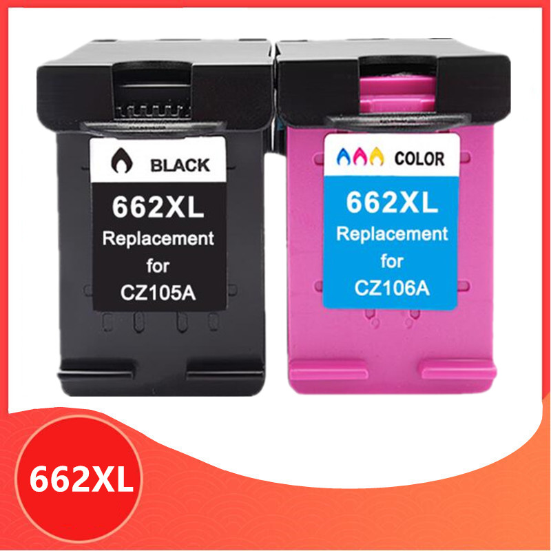 Replacement for HP662 662XL Ink Cartridge for HP 662 Deskjet 1015 <font><b>1515</b></font> 2515 2545 2645 3545 4510 4515 4516 4518 printer image