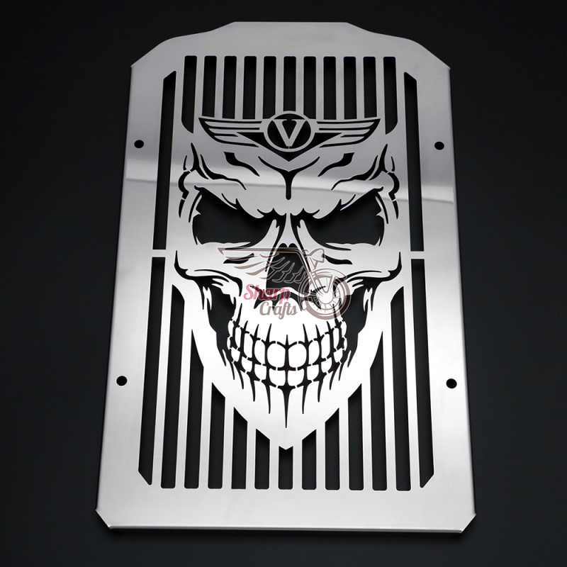 Стальная защитная решетка радиатора для мотоцикла KAWASAKI Vulcan VN900 Classic LT 900 VN900 Custom 2006-2019
