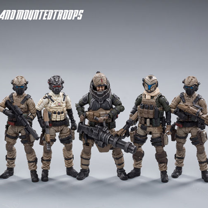 JOYTOY 1:25 Action Figure Soldier UNSC Land Cavalry Military Model Collection Toys Gift Free Shipping