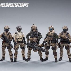 Image 1 - JOYTOY 1:25 figurka żołnierz rb onz Land kawaleria Model wojskowy kolekcja zabawki prezent darmowa wysyłka