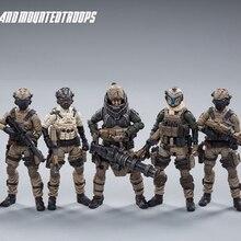 JOYTOY figurine 1:25 soldat UNSC, modèle militaire de cavalerie terrestre, Collection de jouets cadeau, livraison gratuite