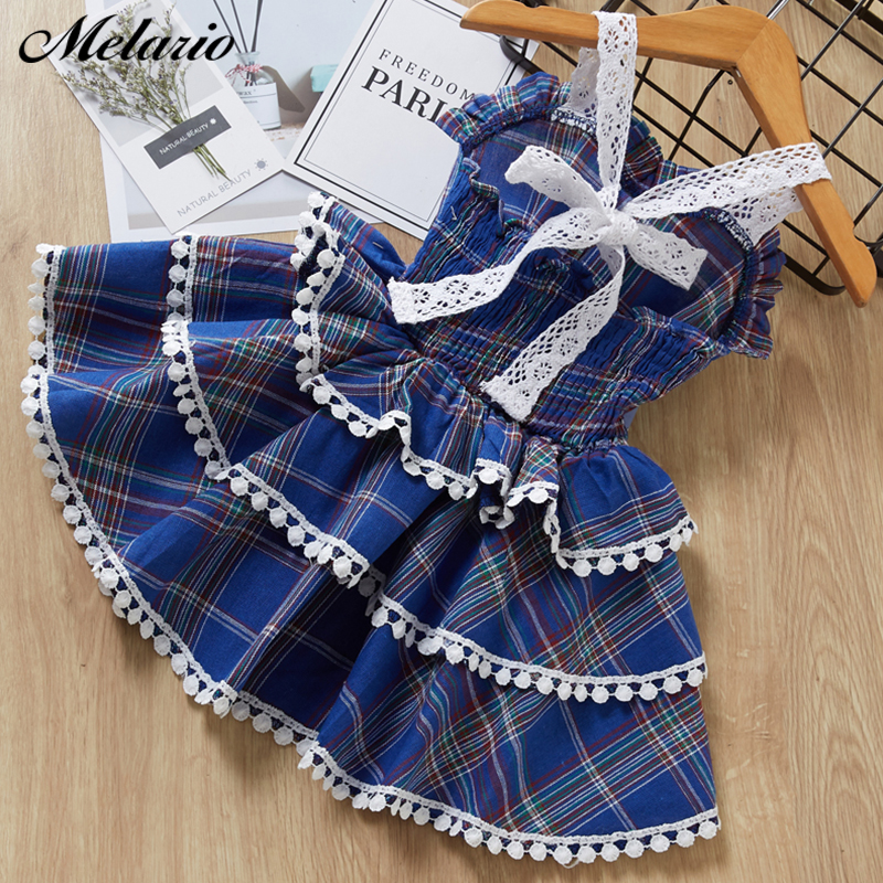 Melario Girls Dresses  Princess Dress Fashion Kids Clothes Europe And The American Baby Dresses Girl Children Birthday Dress