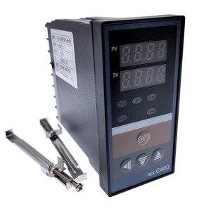 Image 2 - REX C100 intelligente PID regolatore di temperatura REX C100 C400 C700 C900 Termostato SSR Relè di uscita