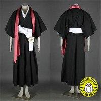 Tailored size Anime BLEACH Cosplay Matsumoto Rangiku Cos Halloween Party High Quality Uniform Set For Men/Women Costume